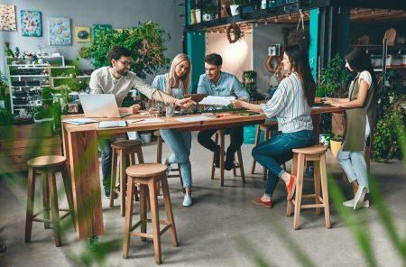 オフィス緑化 生産性
